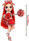 Кукла Рейнбоу Хай Руби Андерсон - Rainbow High Cheer Ruby Anderson 572039 Оригинал, фото 3