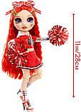 Лялька Мосту Хай Рубі Андерсон - Rainbow High Cheer Ruby Anderson 572039 Оригінал, фото 3