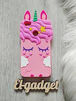Чехол для Xiaomi Y1 Lite Единорог розовый