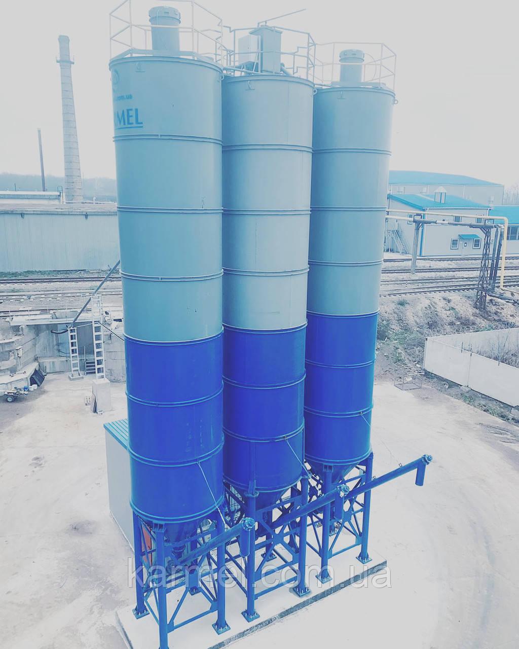 Силос для цементу 75 тон/58 м. куб