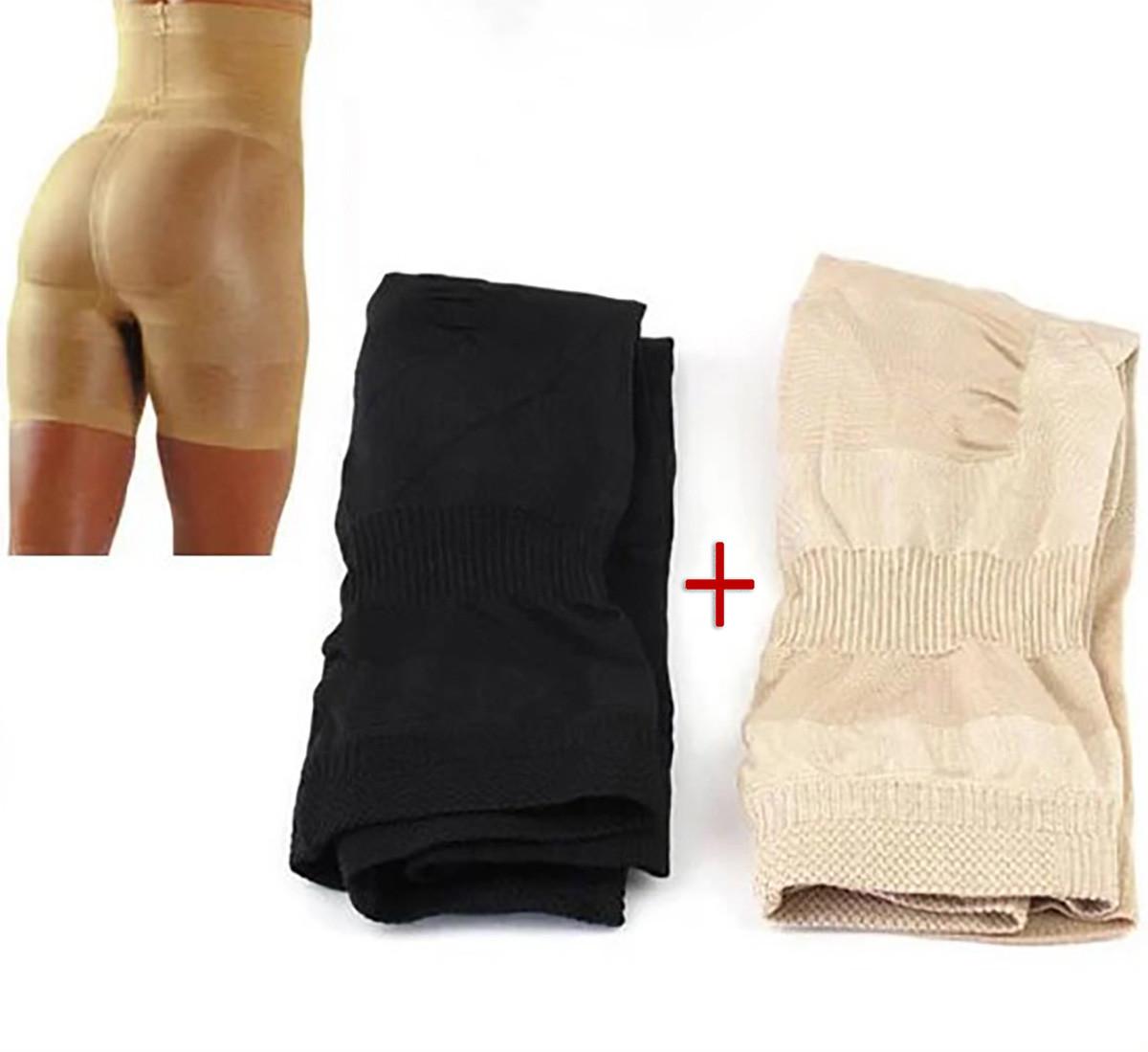 Белье для коррекции фигуры утягивающие корректирующие шорты Slim and Lift body с высокой талией 2 шт. XL