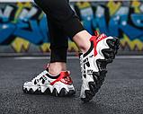 Кроссовки черно-белые в стиле Off-White, фото 4