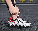 Кроссовки черно-белые в стиле Off-White, фото 5