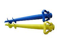 Бур для пляжного зонта пластик микс 39см 83138