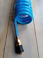 Шланг 8*12мм 10 м  для компрессора спиральный полиуретановый  (PROFI) AIRKRAFT AHC48-J