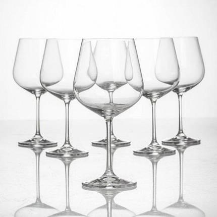 Бокалы для вина Bohemia Strix (Dora) 1SF73/00000/450 450 мл 6 шт, фото 2