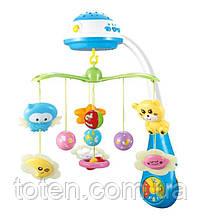 Карусель на кроватку Limo Toy Звездные сны, музыка, проектор, подвески 7 штук,  HB 0015