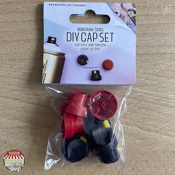 Набір насадок (кепів) Montana DIY Cap Set, 6 шт