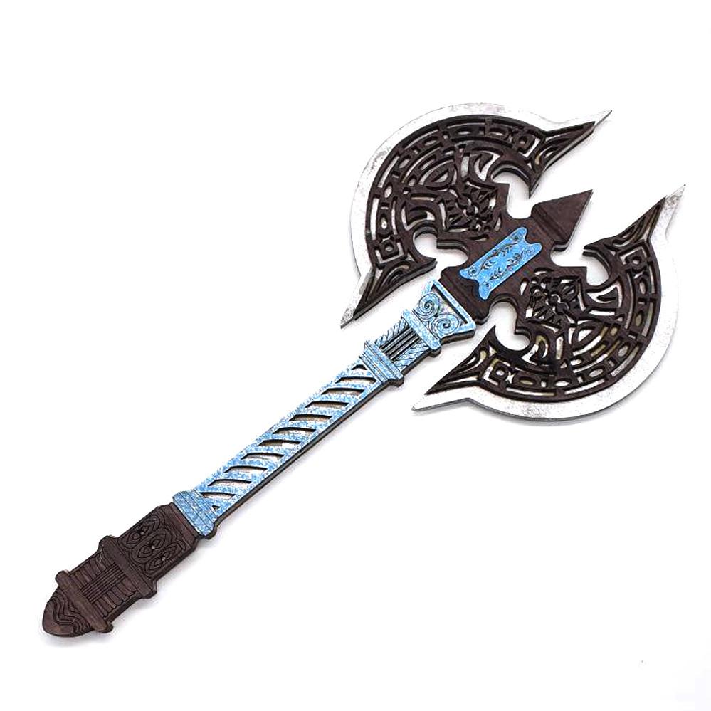 Топор викинга Детский деревянный игрушечный топорик Лабрис для юных рыцарей