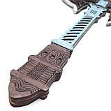 Топор викинга Детский деревянный игрушечный топорик Лабрис для юных рыцарей, фото 2
