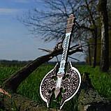 Топор викинга Детский деревянный игрушечный топорик Лабрис для юных рыцарей, фото 9