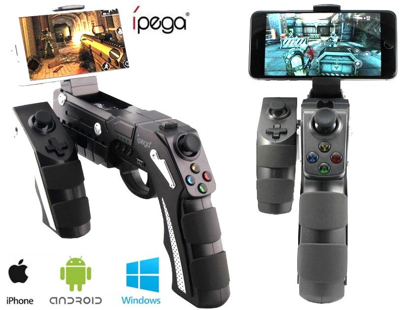 Беспроводной геймпад iPega PG-9057 Bluetooth бластер PC/Android/IOS