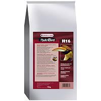 Гранульований корм для великих комахоїдних і плодоядных птахів Versele-Laga NutriBird H16 (10 кг)