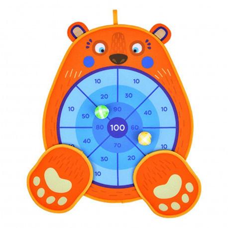 "Двусторонний дартс для малышей ""Медвежонок"" Mideer Toys"