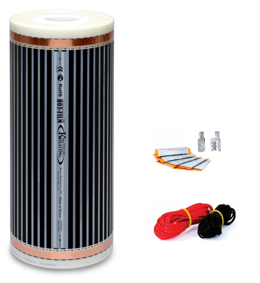 Плівкова тепла підлога під ламінат Hot Film 3м2 (ширина 100см) 660Вт/220Ват/м2