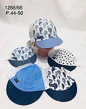 Летняя панамка для мальчика р. 44-50