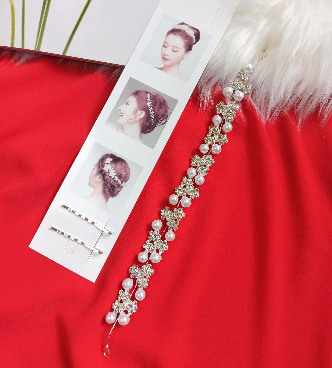 Веточка в прическу Finding Праздничное украшение для волос Серебристый
