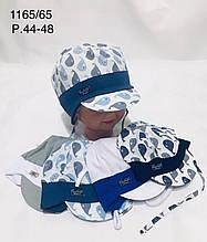 Летняя панамка для мальчика р. 44-48