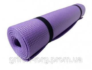 Коврик Verdani Джуниор L однослойный 1500х500х5 мм Фиолетовый