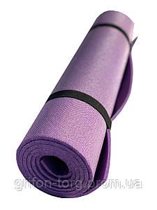 Коврик для йоги и фитнеса Verdani Джуниор XL однослойный 1800х600х5 мм фиолетовый