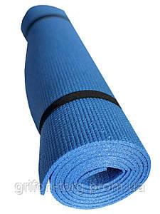 Коврик для йоги и фитнеса Verdani Джуниор XL однослойный 1800х600х5 мм синий