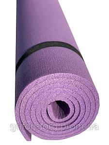 Коврик для фитнеса Verdani Комфорт 1800х600х8 мм  Фиолетовый