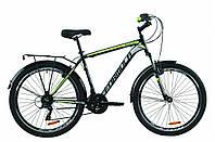 """Велосипед ST 26"""" Formula MAGNUM AM Vbr рама-19"""" Черно зеленый с багажником с крылом"""