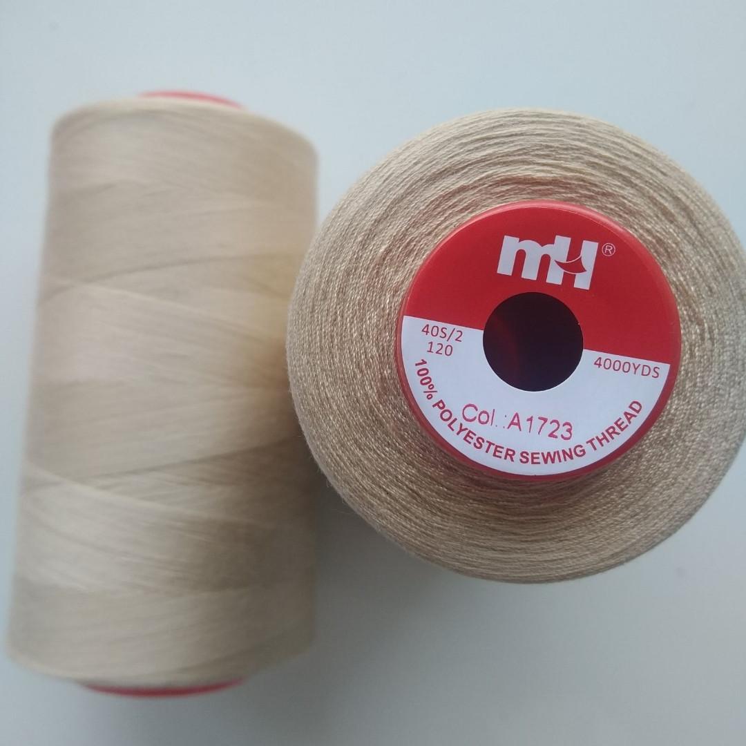 Нитки швейні mH 40/2 колір 1723