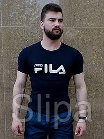 Мужская футболка Fila тёмно-синяя