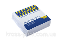 Блок белой бумаги для записей, JOBMAX 90х90х30 мм, не склеенный