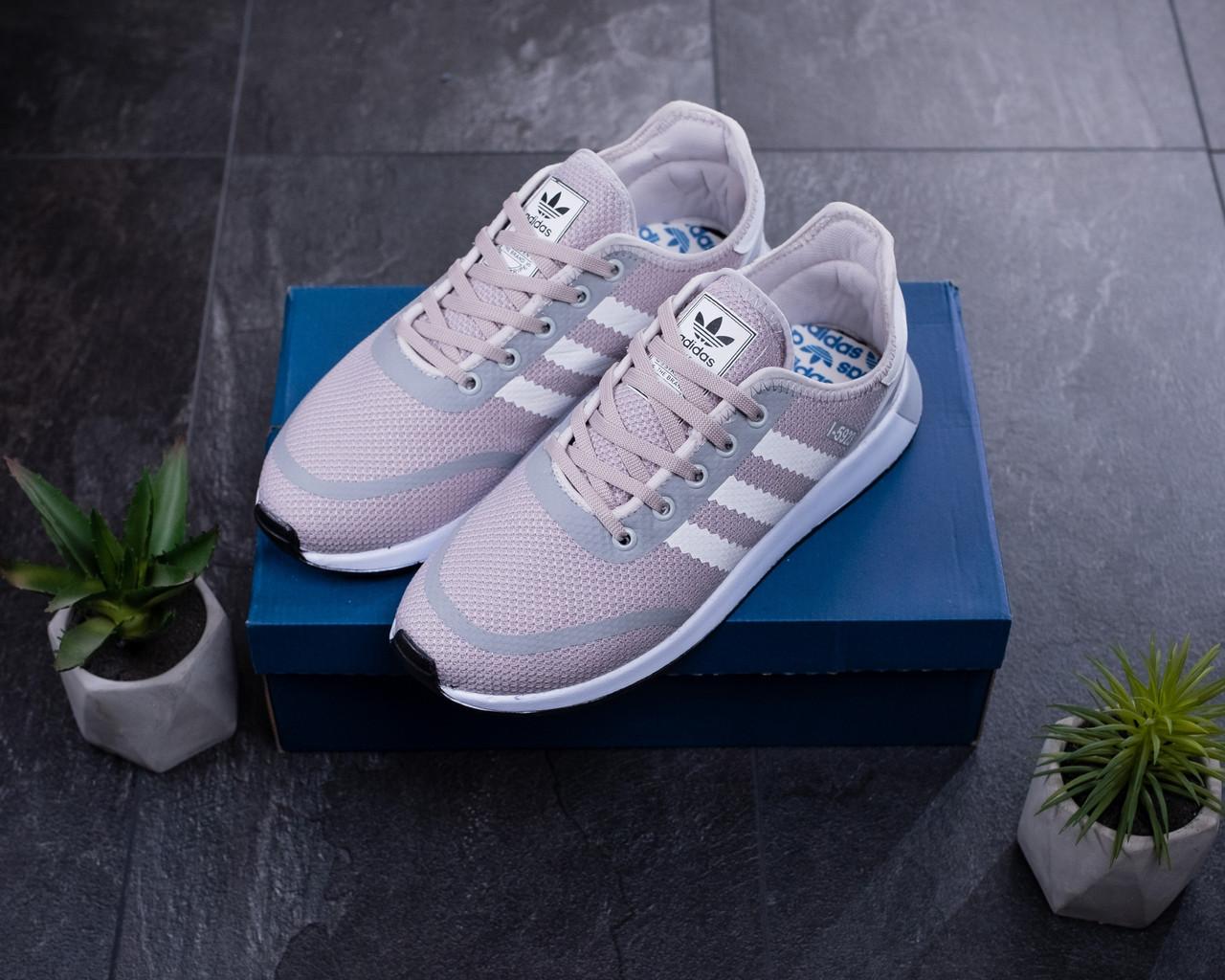 Мужские кроссовки Adidas Серые Сетка, Реплика