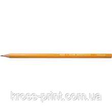 Олівець чорнографітний 2В технічний