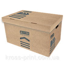 Короб для архивных боксов, KRAFT, JOBMAX, 560х380х265 мм