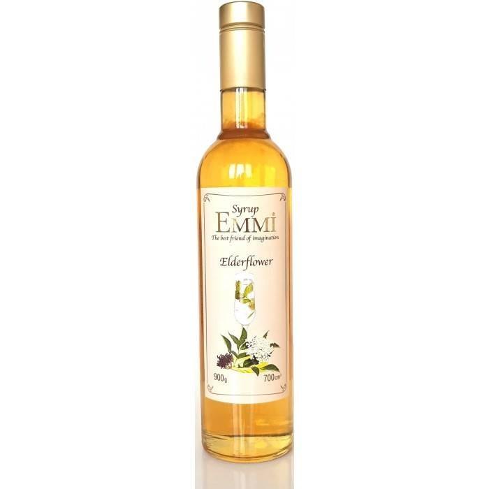 Сироп Эмми (Емми) Цветы бузины 700 мл (900 грамм) (Syrup Emmi Elderflower 0.7)