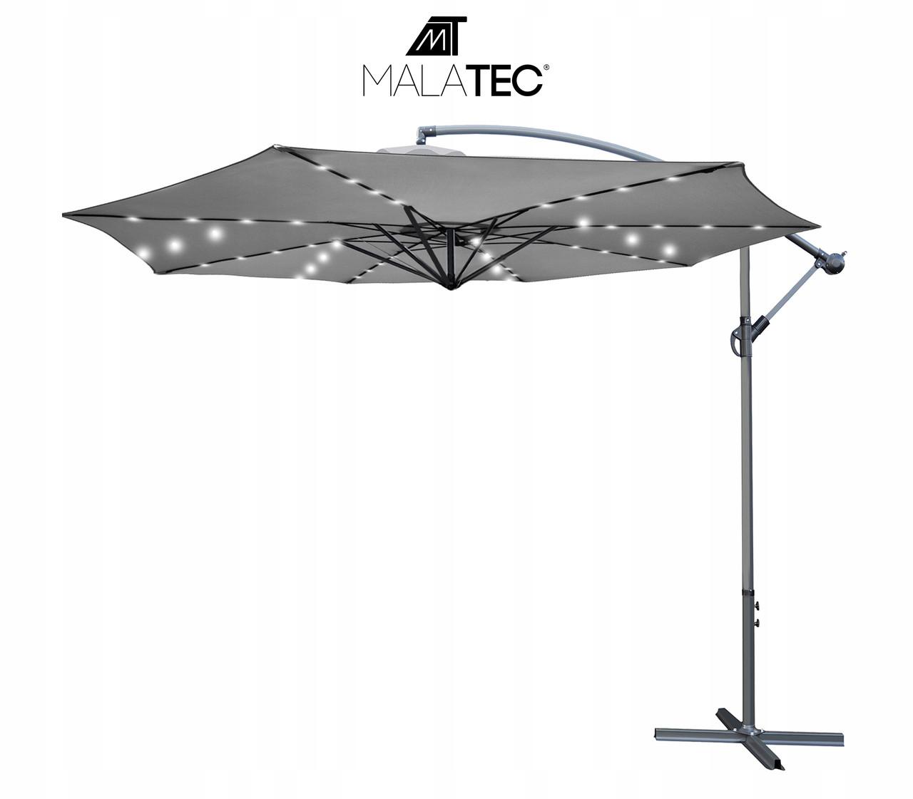 Садова парасолька  Malatec 12267, 32LED (350см)