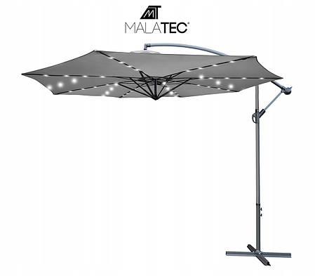 Садова парасолька  Malatec 12267, 32LED (350см), фото 2
