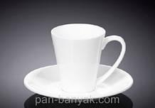 Чашка кофейная с блюдцем Wilmax  110мл фарфор (993054 WL)