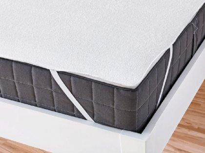 Наматрацник на резинці по кутах непромокальний Aress 80x190 см