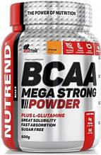 Аминокислоты Nutrend BCAA Mega Strong Powder 500 г апельсин