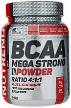 Амінокислота Nutrend BCAA Mega Strong Powder 500 г кавун