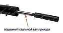 Электрокоса GRAND КГ-2500, фото 5