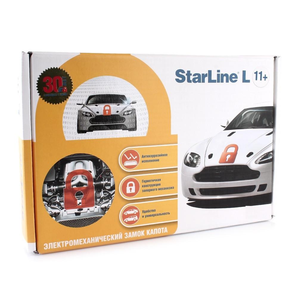Электромеханический блокиратор капота Starline L11+