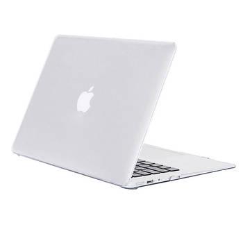 Чехол-накладка Matte Shell для Apple MacBook Pro Retina 13 (A1425 / A1502) Матовый / Прозрачный