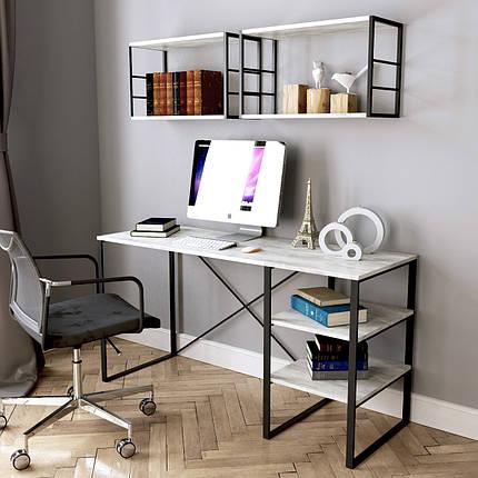 Стол письменный Ascet 50*140 см урбан лайт ТМ ARTinHEAD, фото 2