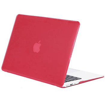 Чохол-накладка Matte Shell для Apple MacBook Air 13 (A1369 / A1466) Червоний / Wine red