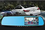 Відеореєстратор-дзеркало з однією камерою і екраном, фото 4