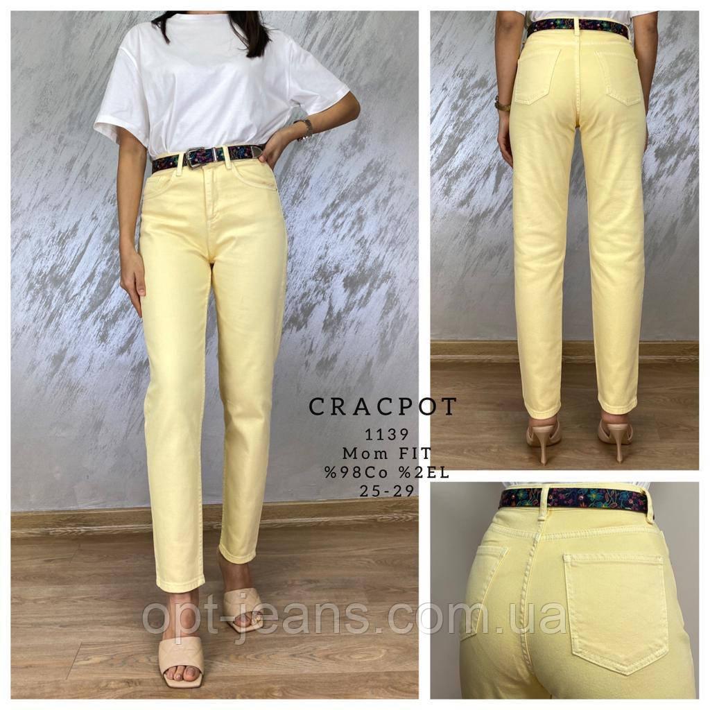 CRACPOT женские МОМ джинсы (25-29/5ед.)