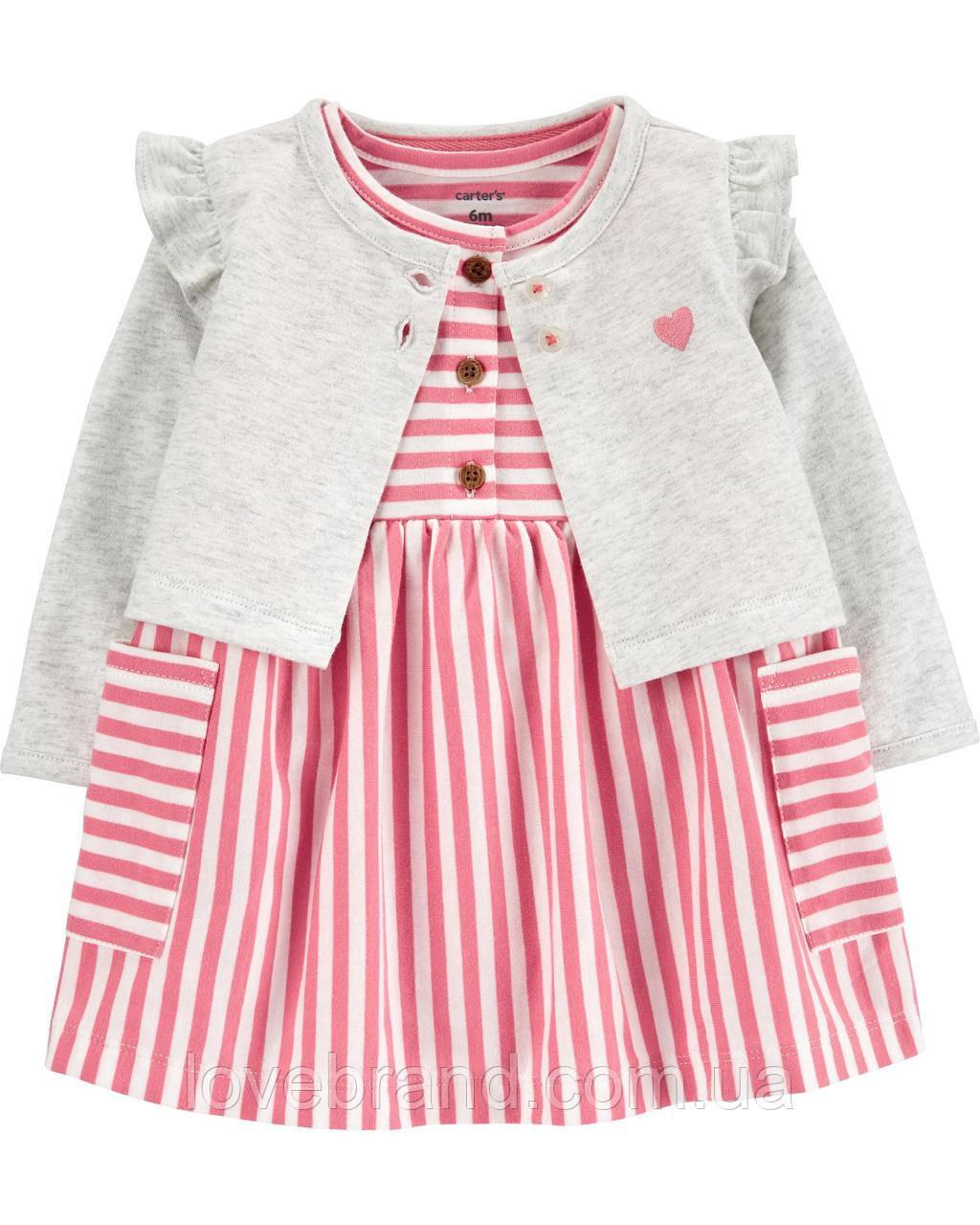 Платье для девочки Carter's (Картерс) + болеро