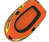Лодка надувная пвх, 160 х 94 х 29 см, одноместная, фото 3