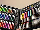 Великий набір для малювання на 150 предметів, набір для творчості, фото 5